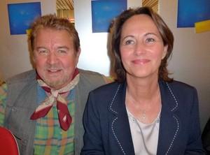 Yann-Ber Tillenon et Ségolène Royal